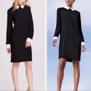 Victoria Beckham for Target Black Collard Dress XS